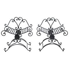 Classical Iron Benches