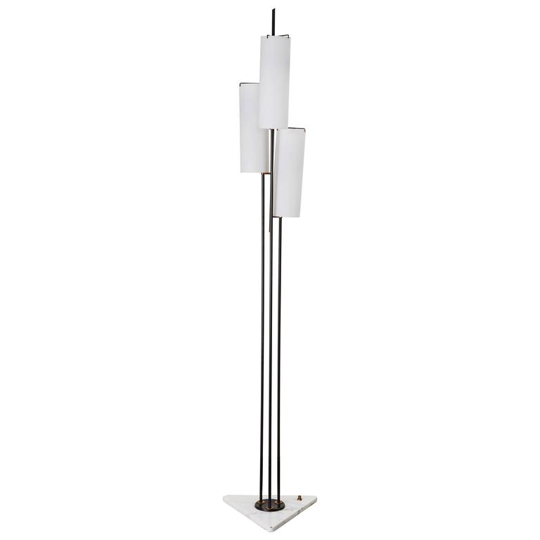 Three Shade Floor Lamp by Stilnovo 1