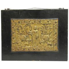 Two Panels from a Buddhist Sadaik Manuscript Chest, Burma, Circa 1790-1850