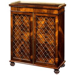 Collector's Rosewood Cabinet