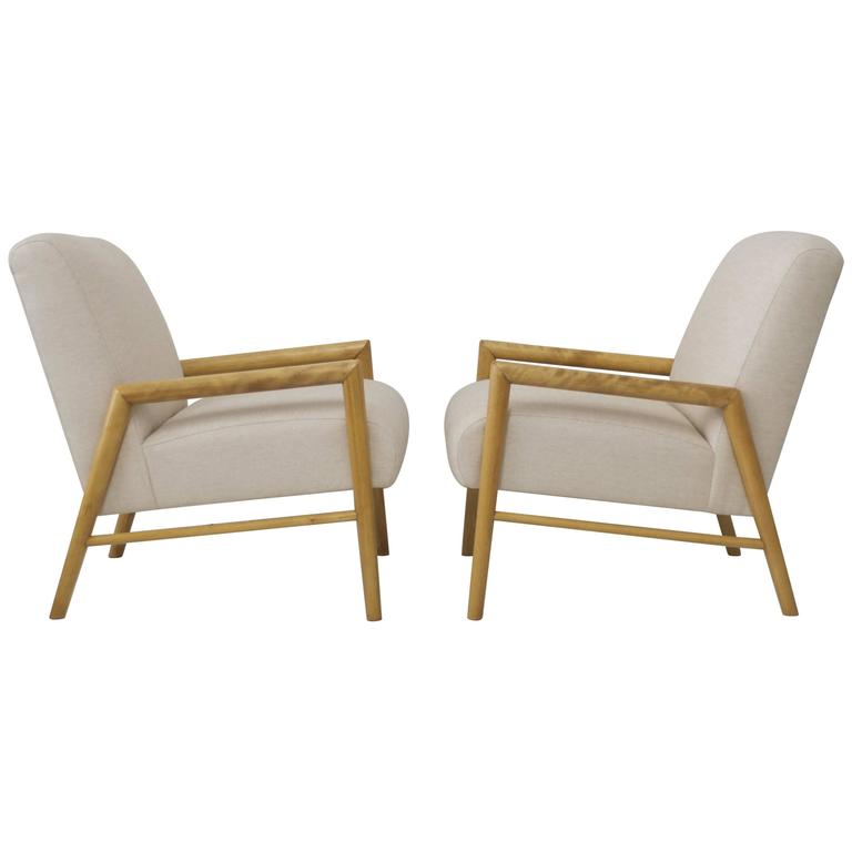 Pair of Lounge Chairs by Leslie Diamond