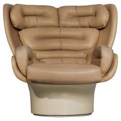 Joe Colombo 'Elda' Lounge Chair for Comfort Italy