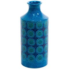 Italian Ceramic Vase Bitossi for Rosenthal Netter