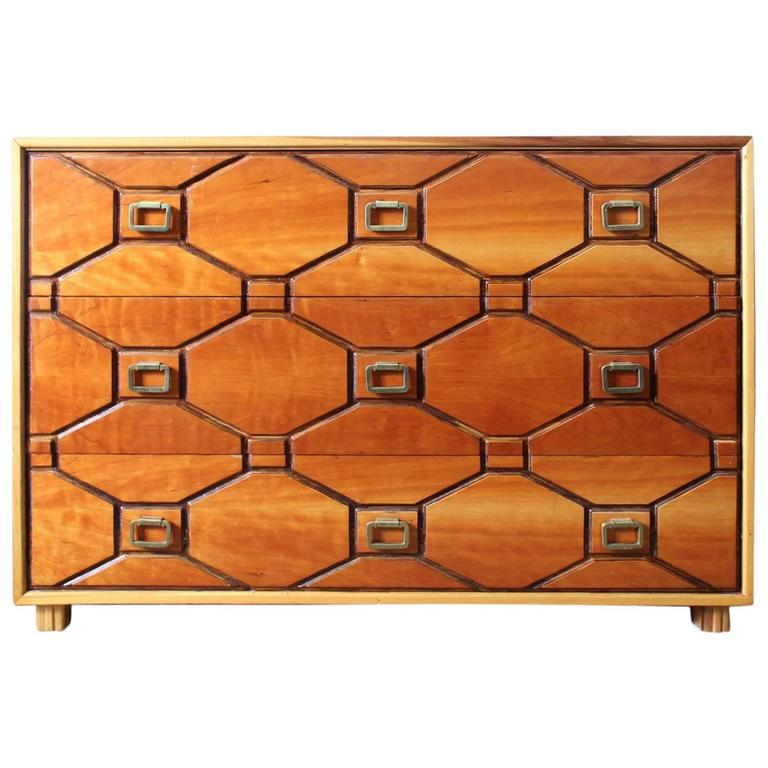 Stylish Mid-Century Dorothy Draper Viennese Collection Dresser