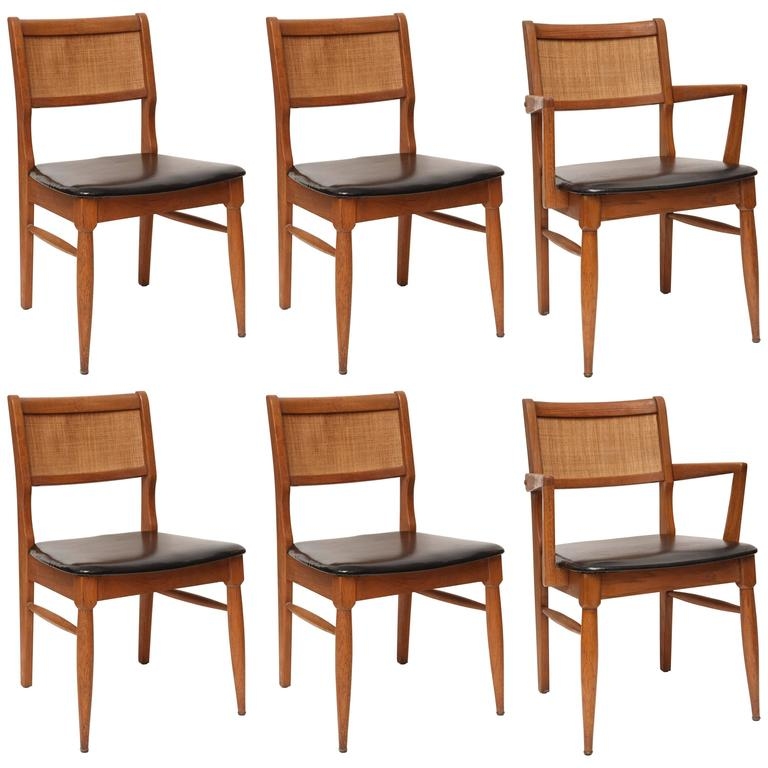 Set Of MCM Dining Chairs, USA, 1950s For Sale At 1stdibs