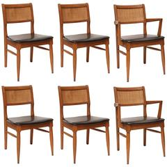 Set of MCM Dining Chairs, USA, 1950s