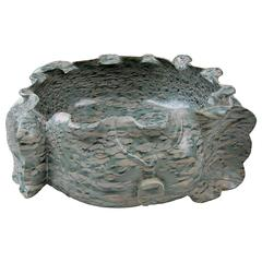 Hand Carved Taihu Lotus Basin