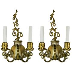 Pair of French Sconces, circa 1920s