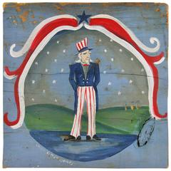 Folk Art Americana Painting