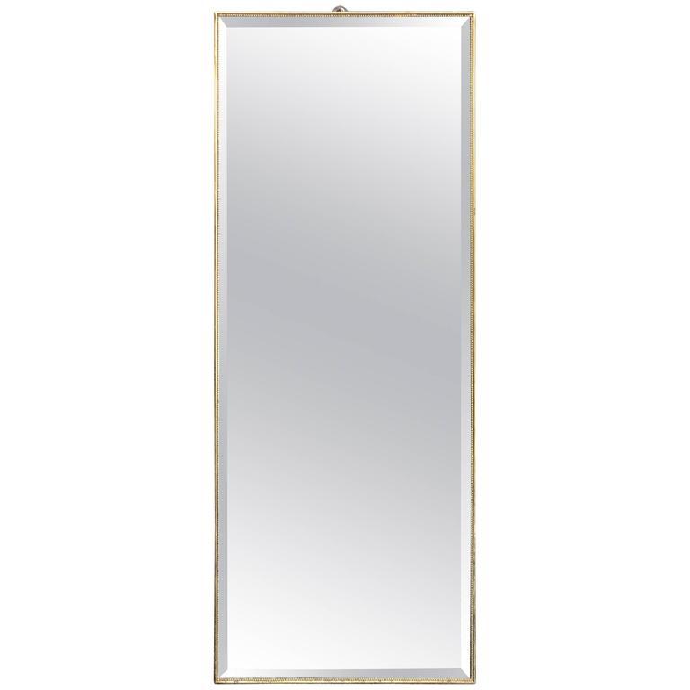 Brass Italian Mirror, 1960s