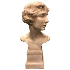 Portrait Bust, Ernst Fuchs, 1923