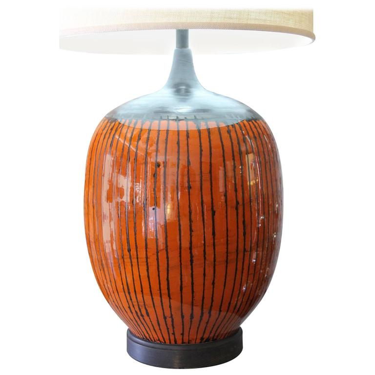 Monumental Ceramic Lamp