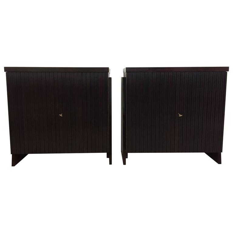 20th Century Pair of Sideboards Designed by O. Borsani, Italy