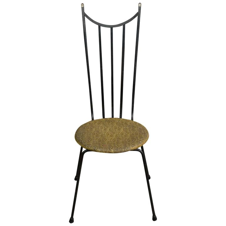 1960s American Iron Side Chair