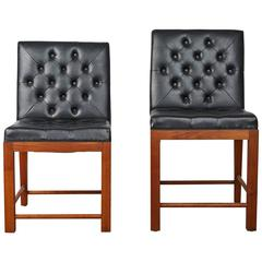 His & Hers Welton Becket Chairs for the Dorothy Chandler Pavilion, 1965