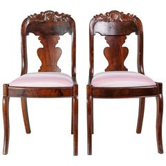 19th Century Accent Chairs, Pair