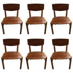 Six Chairs of Fritz Hansen