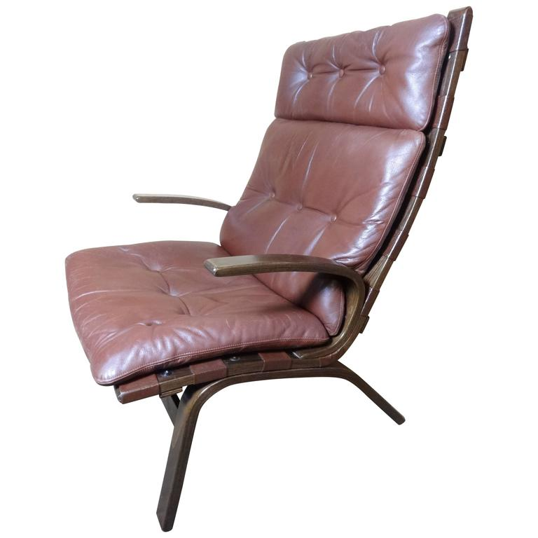 Admirable Mid Century Modern 1960 Retro Danish Ingmar Relling Siesta Lounge Chair Gmtry Best Dining Table And Chair Ideas Images Gmtryco