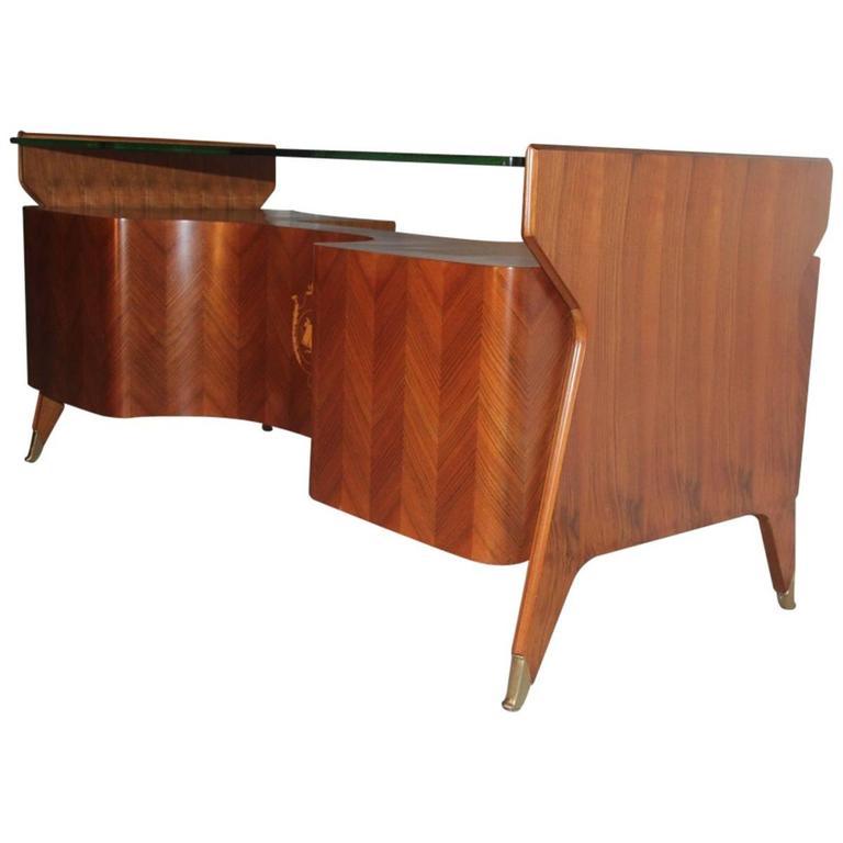 Vittorio Dessi Desk Italian Mid-Century Design