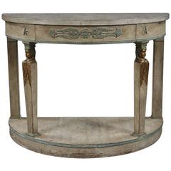 Mid-20th Century Empire Style Console Table