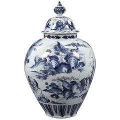18th Century Frankfurt Vase and Cover