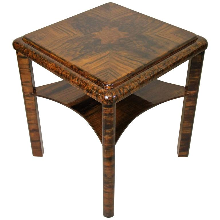 Art deco side table unusual painted austria circa 1925 for Unusual tables for sale