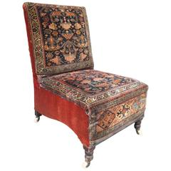 19th Century Slipper Chair