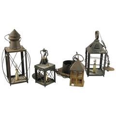 Collection of Lanterns, Set of Four