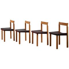 Olavi Hanninen Set of Four 'Tuomas' Dining Chairs, Finland, 1950s