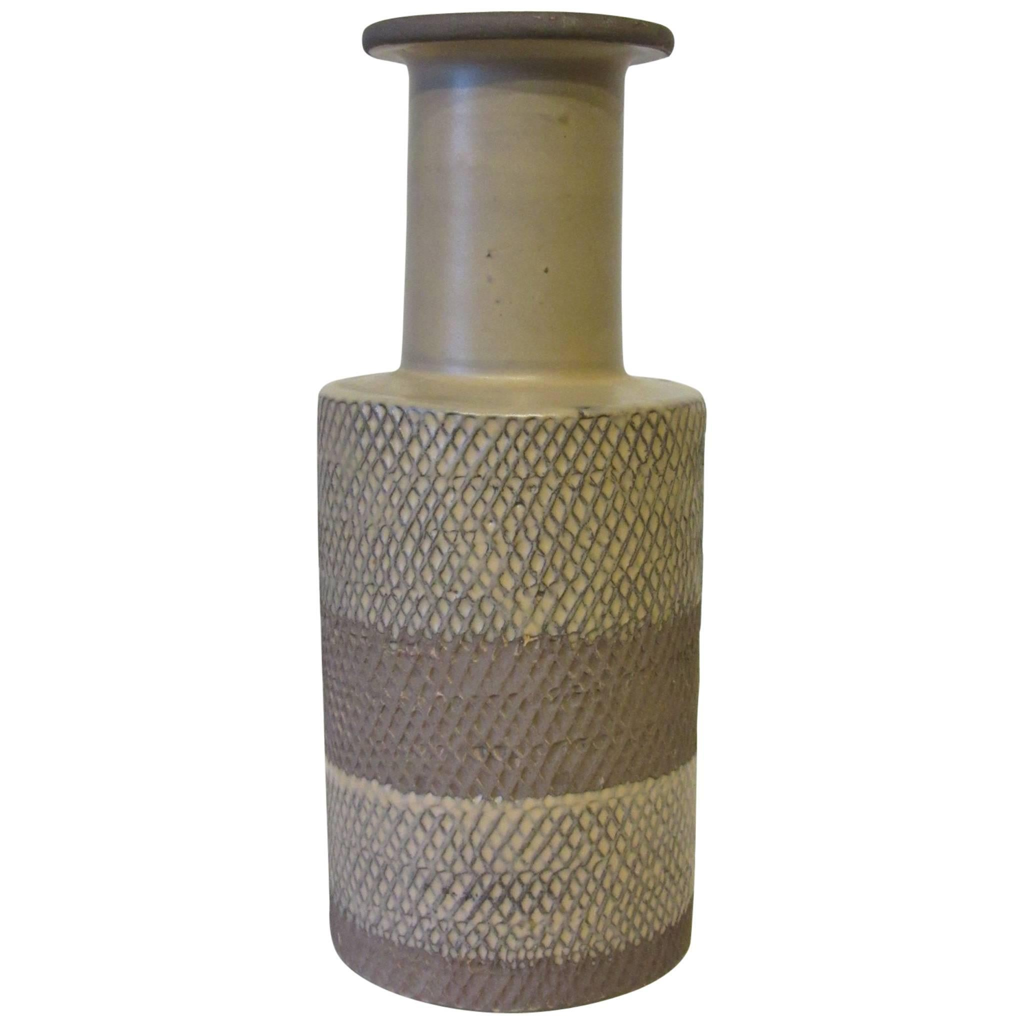 Guidi Bitossi Italian Pottery Vase for Raymor