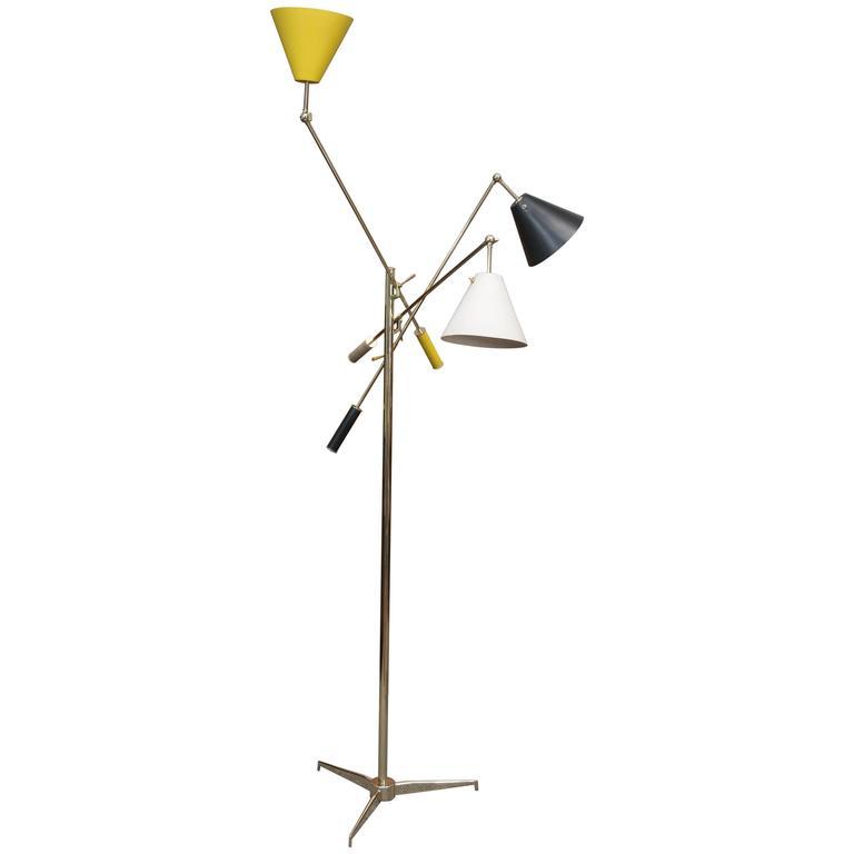 "Original Arredoluce ""Triennale"" Floor Lamp"