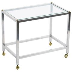 Steel Small Side Table
