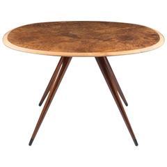 Swedish Mid Century Modern Narrow Coffee Table At 1stdibs