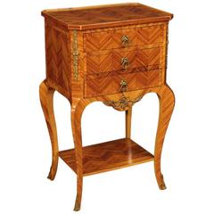 20th Century French Side Table in Rosewood