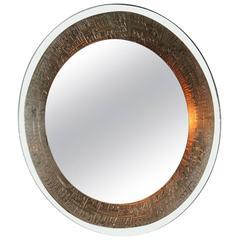 Wall Mirror M. Furgeri Italian Mid-Century