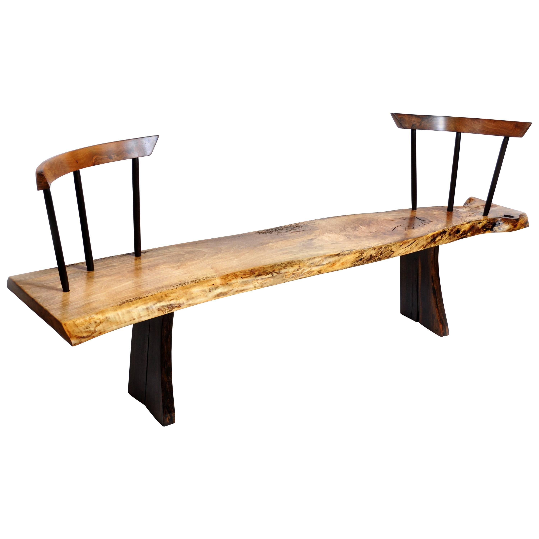 Fabulous Burl Wood Bench Uwap Interior Chair Design Uwaporg
