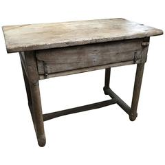 French Farm Table in Chestnutwood