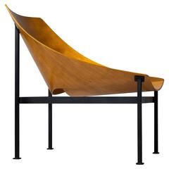 Hull Plywood Armchair, Designed by Charles Godillon in 1960