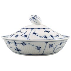 Rare Bing and Grondahl B&G Fluted Lid Tureen, 1870s