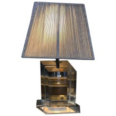 Lucite Lamp by Les Prismatiques
