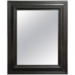 Late 19th Century Ebonized Mirror