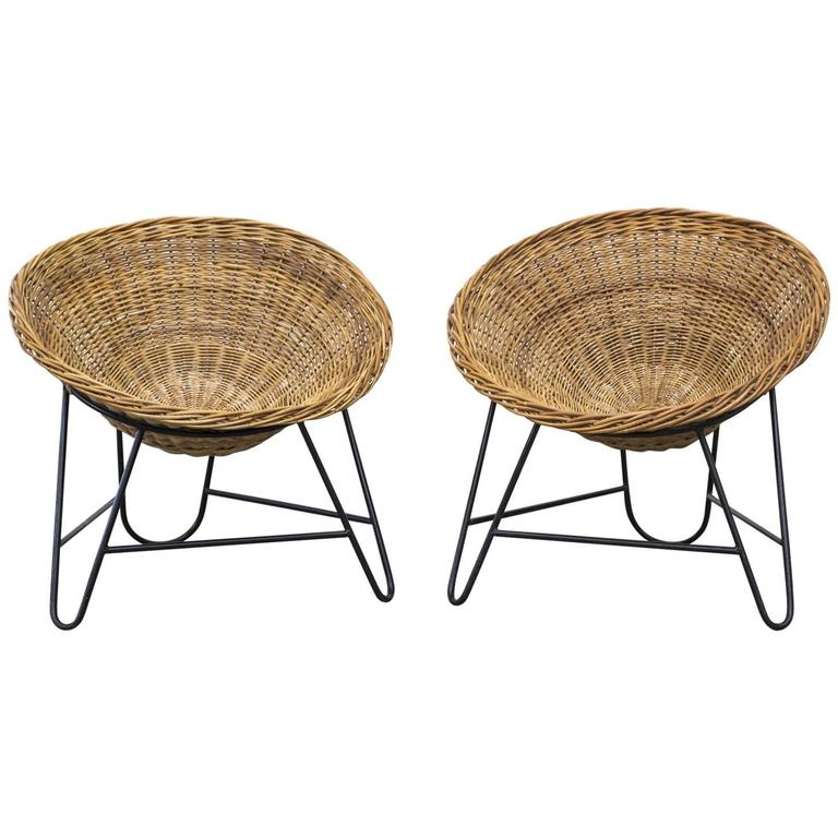 collection product modern furniture wire basket chair white brickell net