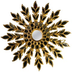 Sunburst Shaped Mirror