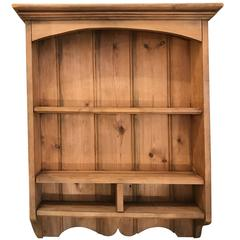 French Pine Wall Shelf