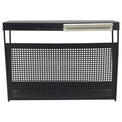 Pilastro Perforated Metal Wall Mount Magazine Rack or Shelf