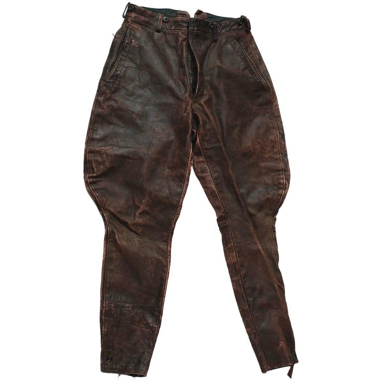 Motorcycle Riding Pants >> 1930s Motorcycle Riding Pants For Sale At 1stdibs