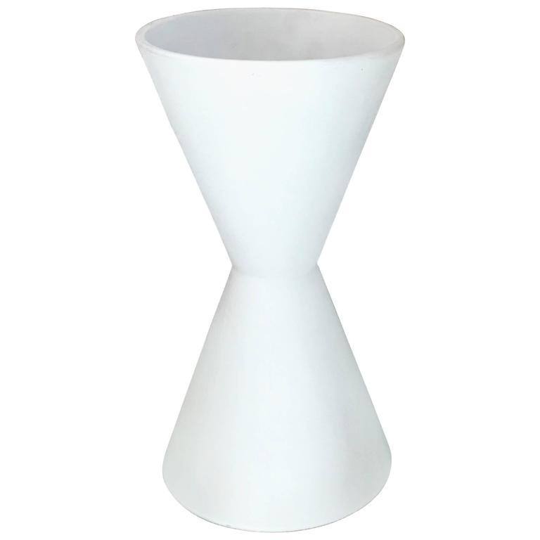 Lagardo Tackett Tall Double Cone Planter for Architectural Pottery For Sale