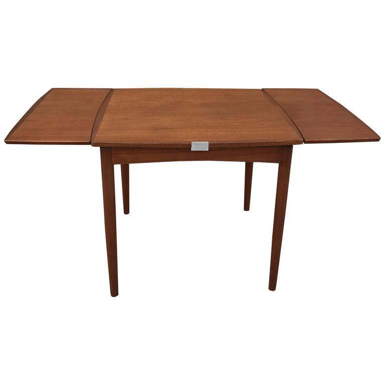 Danish Modern Teak Extension Dining Table At 1stdibs