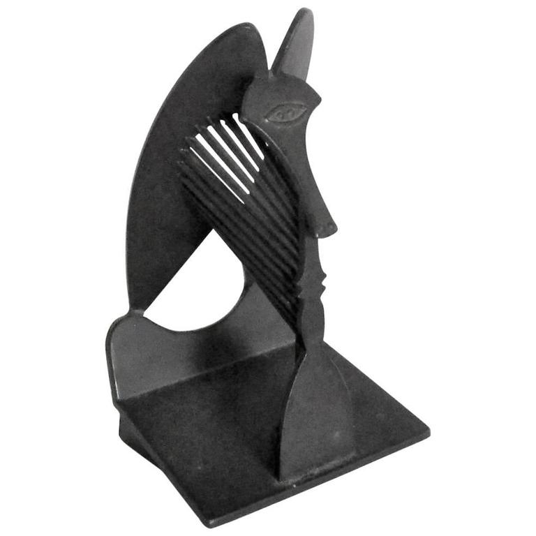 Rare Picasso Chicago Public Building Commission Cubist Sculpture 1