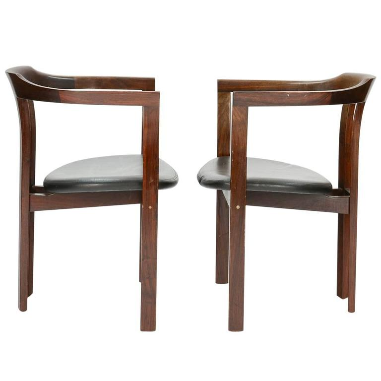 A Pair Rosewood Arm Chairs by Hans Olsen for C/S Mobler, Glostrup  For Sale